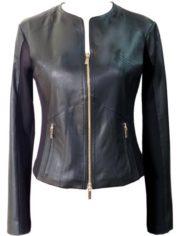 giacca-donna-in-pelle-nera-di-agnello-nappato-e-inserti-in-jersey_1054_2