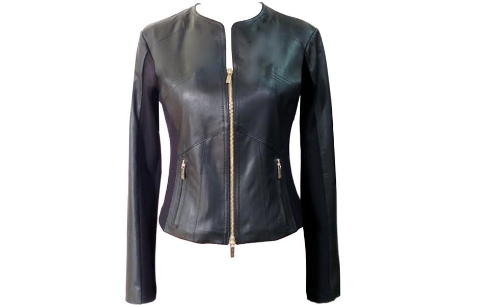 Giacca Nera Pelle Casual Donna Giacca Pelle 8v0yNmnwO