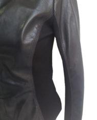 giacca-donna-in-pelle-nera-di-agnello-nappato-e-inserti-in-jersey_1054_3