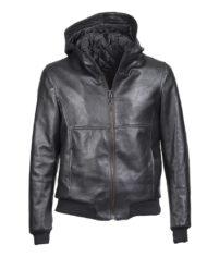 giacca-uomo-con-cappuccio-sportiva-nera-in-pelle-di-agnello-nappato-crust_1902_3
