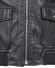 giacca-uomo-sportiva-nera-in-pelle-di-agnello-nappato_Avion_1