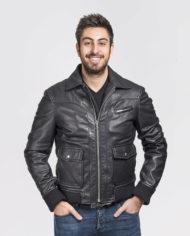 giacca-uomo-sportiva-nera-in-pelle-di-agnello-nappato_Avion_6