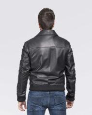 giacca-uomo-sportiva-nera-in-pelle-di-agnello-nappato_Avion_8