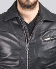 giacca-uomo-sportiva-nera-in-pelle-di-agnello-nappato_Avion_9